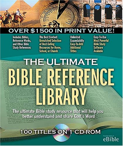 9781418516802: The Ultimate Bible Reference Library