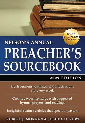 9781418525361: Nelson's Annual Preacher's Sourcebook 2009 (Nelson's Preacher's Sourcebook)