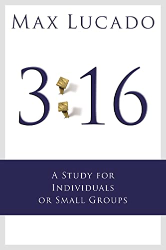 9781418529239: 3:16: A Study for Individuals or Small Groups