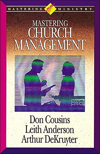 9781418532307: Mastering Ministry: Mastering Church Management (Mastering Ministry (Thomas Nelson))