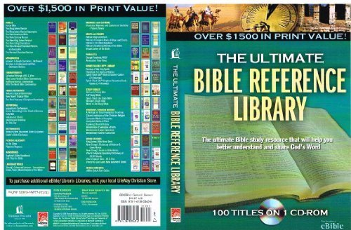 9781418533434: Ultimate Bible Reference Library Cd-rom (Thomas Nelson)