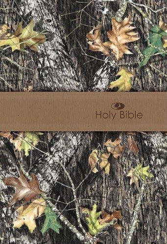 Mossy Oak Personal Size Giant Print Bible (NKJV): Thomas Nelson