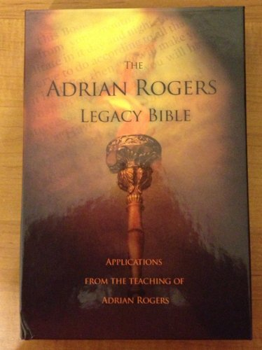 9781418538033: The Adrian Rogers Legacy Bible - Brown Leather Bound New King James Version