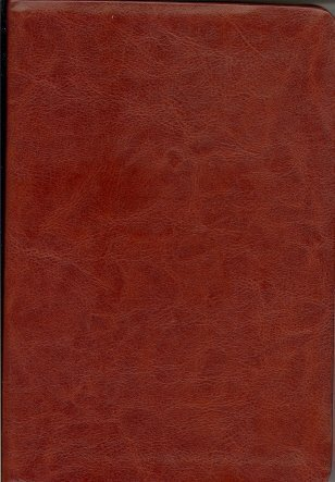 9781418538828: Personal Size Giant Print Reference Bible (NKJV, 1653BRW, Brown LeatherSoft, Gilded-Gold Page Edges)