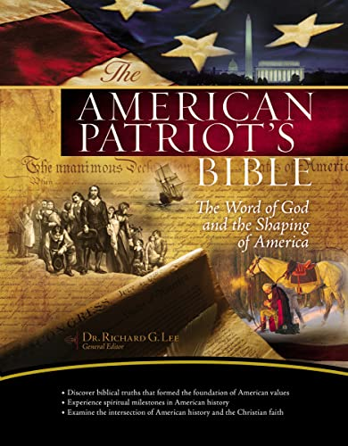 9781418541538: The NKJV, American Patriot's Bible, Hardcover: The Word of God and the Shaping of America