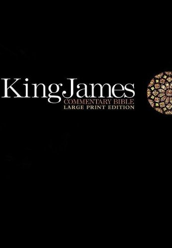 King James Commentary Bible: King James Version, Red Letter Version