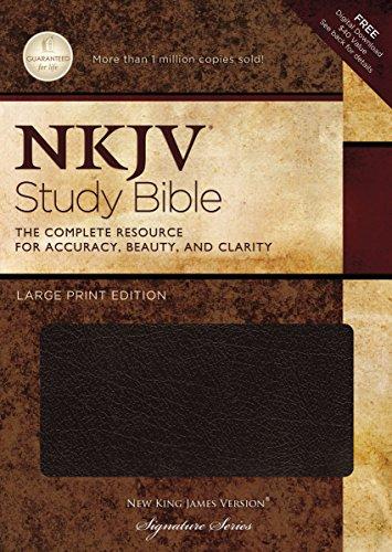 9781418542108: NKJV Study Bible: Large Print Edition