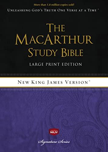 9781418542221: MacArthur Study Bible-NKJV-Large Print