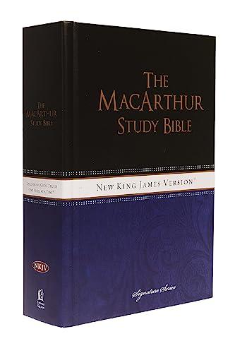 9781418542221: NKJV, MacArthur Study Bible, Large Print, Hardcover