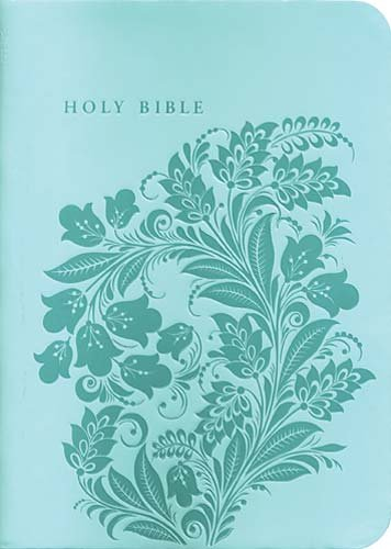 9781418542467: The Holy Bible: King James Version, Teal, Bonded Leather