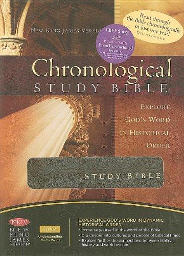 9781418542528: The Chronological Study Bible