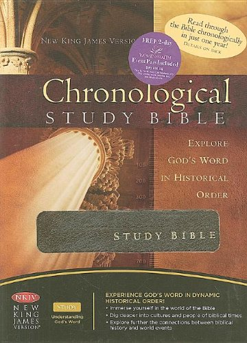 9781418542528: The Chronological Study Bible