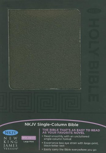 Holy Bible: New King James Version, Black-Brown,: Nelson Bibles