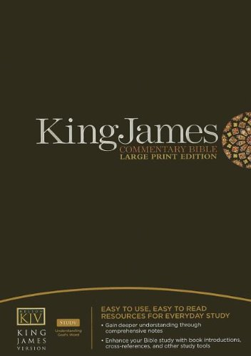 9781418542597: King James Commentary Bible