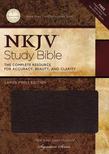 9781418542634: NKJV Study Bible: Large Print Edition