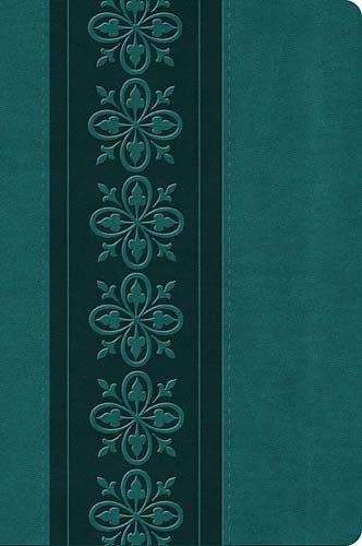 9781418543273: Holy Bible: King James Version, Dark Teal Leathersoft, Single-Column