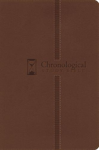 9781418544065: The Chronological Study Bible: New King James Version Brown Leathersoft