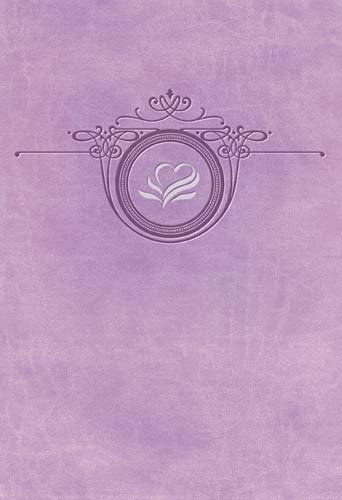9781418544133: The Women of Faith Devotional Bible: A Message of Grace & Hope for Every Day: New King James Version, Misty Lavender LeatherSoft