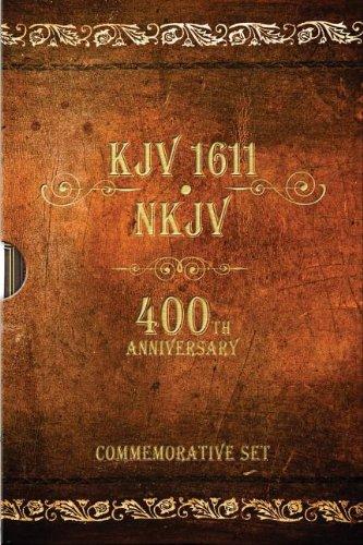 KJV 1611 Bible / NKJV Bible: 400th: Thomas Nelson