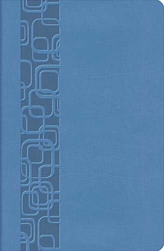 9781418544270: The Holy Bible: New King James Version, Cornflower Blue, LeatherSoft, UltraSlim