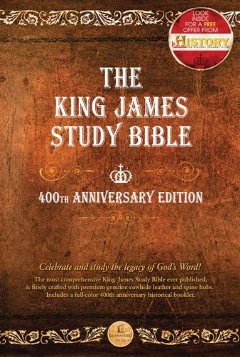 The King James Study Bible: 400th Anniversary: Nelson, Thomas