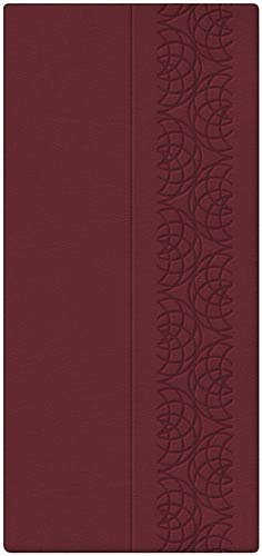 9781418545840: Holy Bible: King James Version, Burgundy, Leathersoft, Checkbook (Classic Series)