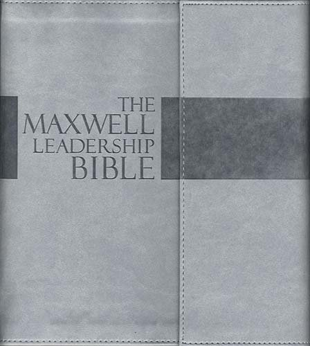 9781418546779: The Maxwell Leadership Bible: TakeNote Edition: New King James Version Dove Gray Leathersoft