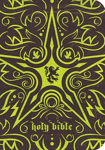 9781418547417: Holy Bible: New King James Version Espresso / Electric Green Flexible Cloth UltraSlim