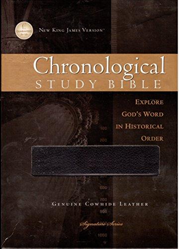 9781418548681: The Chronological Study Bible, NKJV (Signature Series)