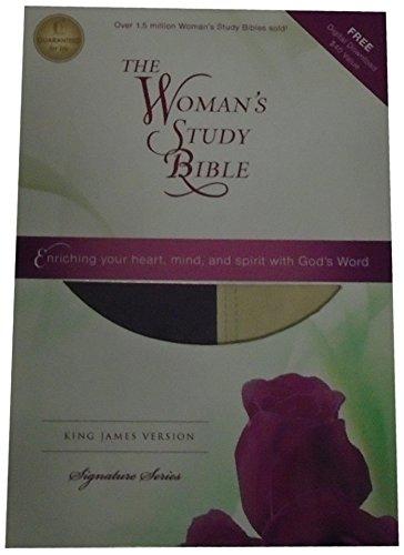 9781418548797: KJV, The Woman's Study Bible, Imitation Leather, Turquoise (Signature)
