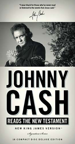 9781418548834: Johnny Cash Reads the New Testament: New King James Version (Signature Series)