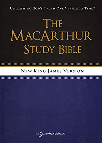 9781418550356: NKJV, The MacArthur Study Bible, Hardcover: Revised and Updated Edition