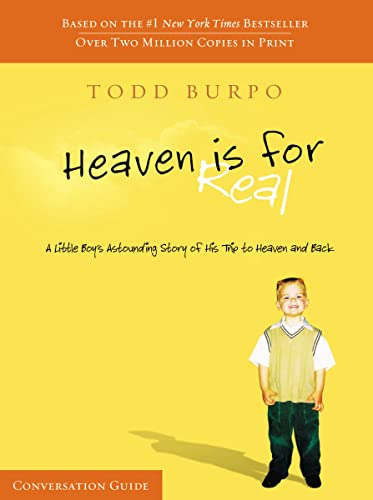 9781418550684: Heaven Is For Real Conversation Guide