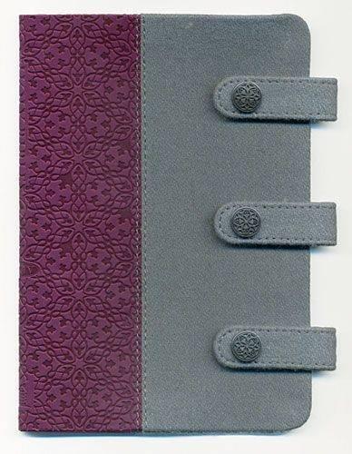 9781418550721: Holy Bible: King James Version, Gray & Plum, Fabric/Leathersoft, Compact, Ultraslim (Designer)