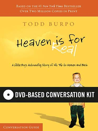 9781418550851: Heaven Is For Real DVD-Based Conversation Kit