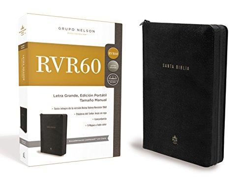 9781418598921: Santa Biblia Rvr1960- Edicion Portatil Con Cremallera