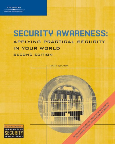9781418809690: Security Awareness: Applying Practical Security in Your World
