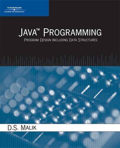 9781418835408 java programming program design including data rh abebooks co uk