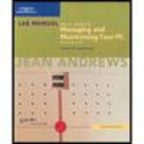 9781418835620: Lab Manual for A+ Guide to Managing and Maintaining Your PC, Fifth Edition, Comprehensive