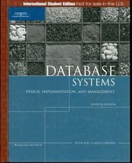 9781418836504: Database Systems: Design, Implementation, and Management