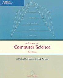 Schneider Michael Gersting Judith Invitation Computer Science