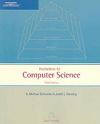 9781418836542 An Invitation To Computer Science Java Version 3rd