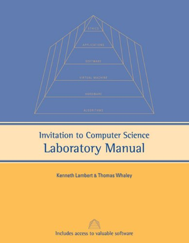 9781418837549: Invitation to Computer Science Lab Manual