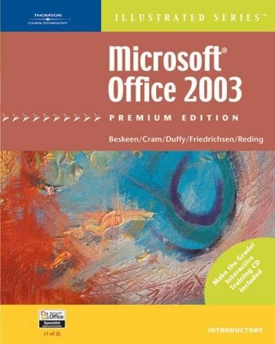 9781418860394: Microsoft Office 2003 - Illustrated Introductory' Premium Edition