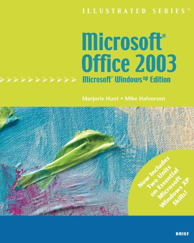 9781418860400: Microsoft Office 2003 - Illustrated Brief' Microsoft Windows XP Edition (Illustrated (Thompson Learning))