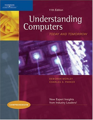 Understanding Computers 9781418860554 Give your students a classic, well-rounded introduction to computer concepts with a modern twist! Known for its readability and breadth of topics covered, Understanding Computers: Today and Tomorrow will ensure that students have the comprehensive, current knowledge of computer concepts and issues needed to succeed in our technocentric society. This 11th Edition offers exciting new features and updates to make its content more approachable and meaningful to students.