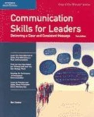 9781418864903: Crisp: Communication Skills for Leaders, Third Edition: Delivering a Clear and Consistent Message (Crisp 50-Minute)