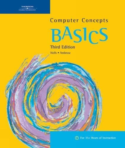 9781418865030: Computer Concepts BASICS, 3rd (BASICS Series)