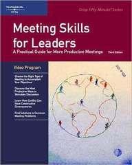 9781418889074: Crisp: Meeting Skills for Leaders, Third Edition, Group Training Video Program (Crisp Group Training Video)