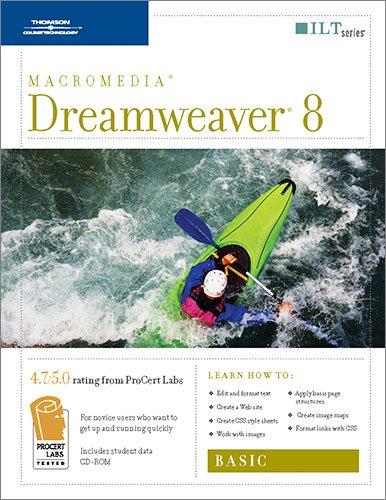 9781418889876: Dreamweaver 8: Basic, Student Manual with Data (ILT)